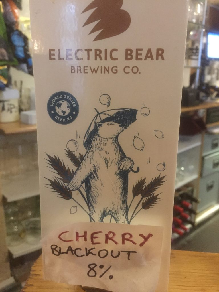 Cherry Blackout by Electric Bear