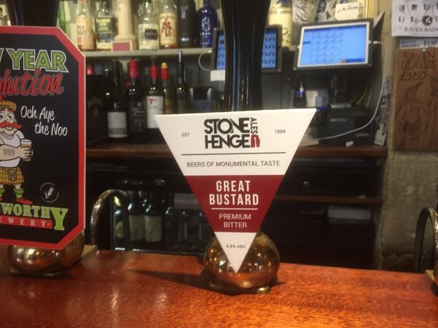 Great Bustard by Stonehenge Ales