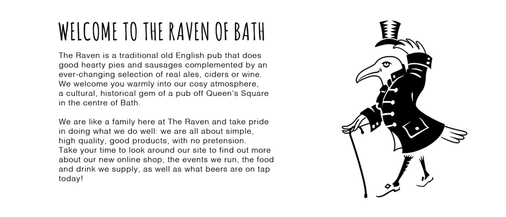 Welcome to The Raven of Bath