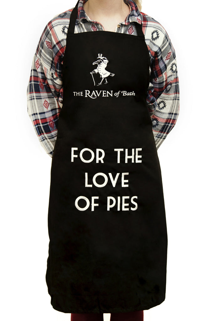 Raven Black Kitchen Apron