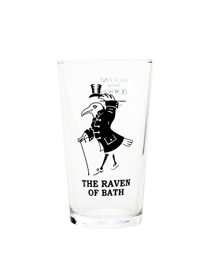 Raven Half Pint Glass