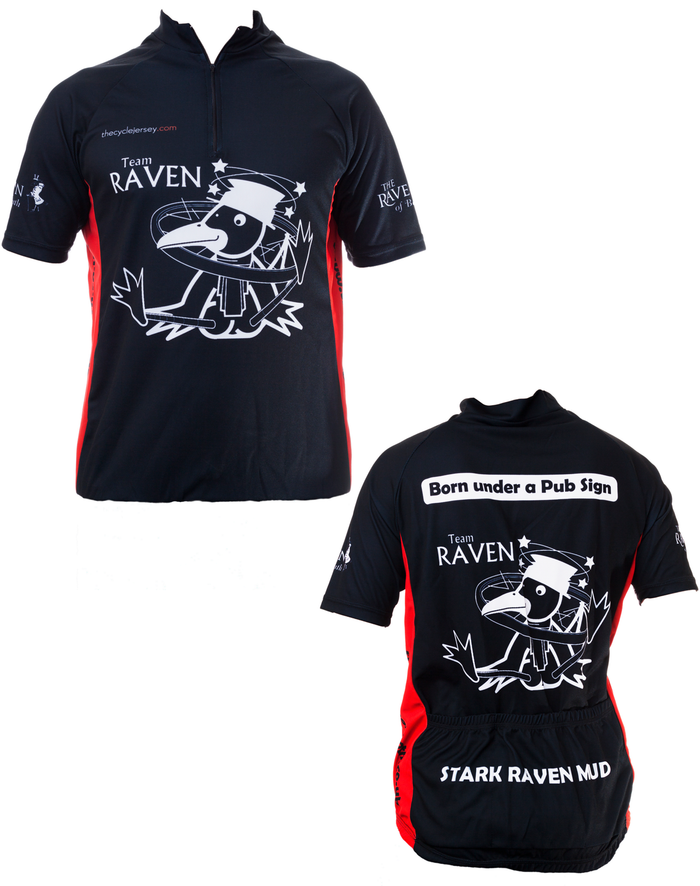 Raven Cycling Shirt