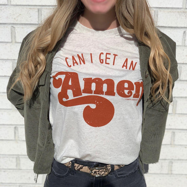 CAN I GET AN AMEN Graphic Tees