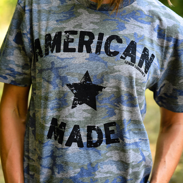 AMERICAN MADE Camo Graphic Tee