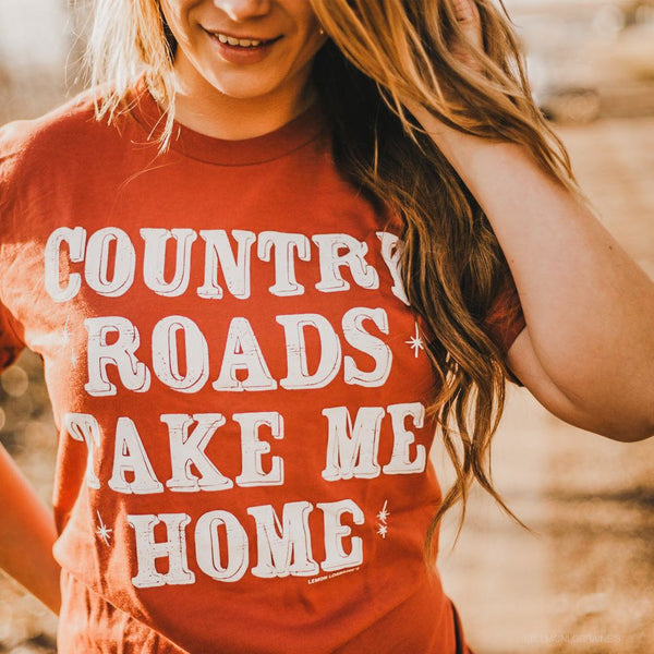 COUNTRY ROADS - GRAPHIC Tees