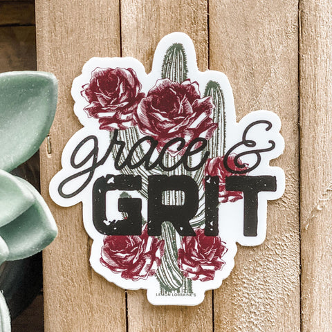 GRACE & GRIT - Sticker Decals
