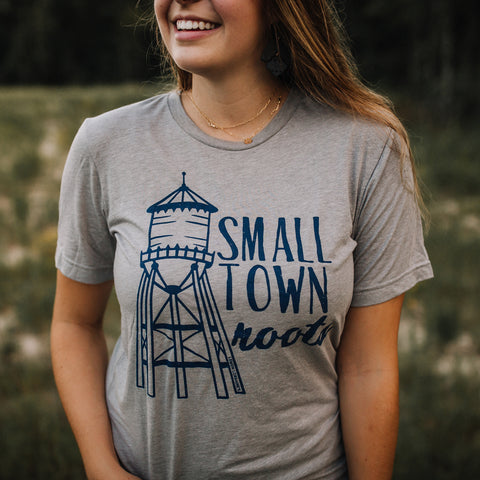SMALL TOWN ROOTS Graphic Tees