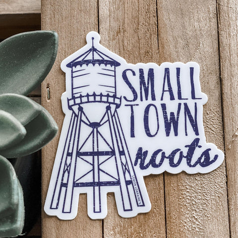 SMALL TOWN ROOTS - Sticker Decals