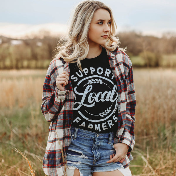 Support Local Farmers - Graphic Tees