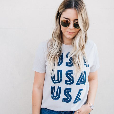 USA USA USA Graphic Tees