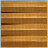 Muted Gold Cellular Thermal Vanshades
