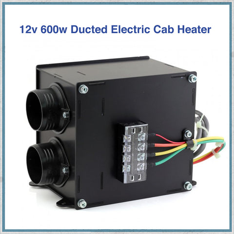 12v 600w Ducted Electric Cab Heater
