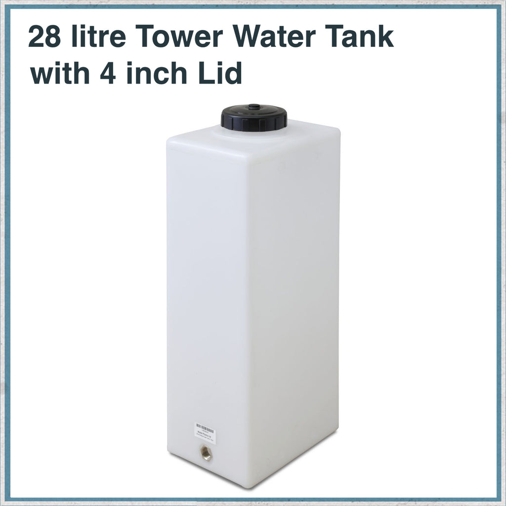 28 litre tower water tank
