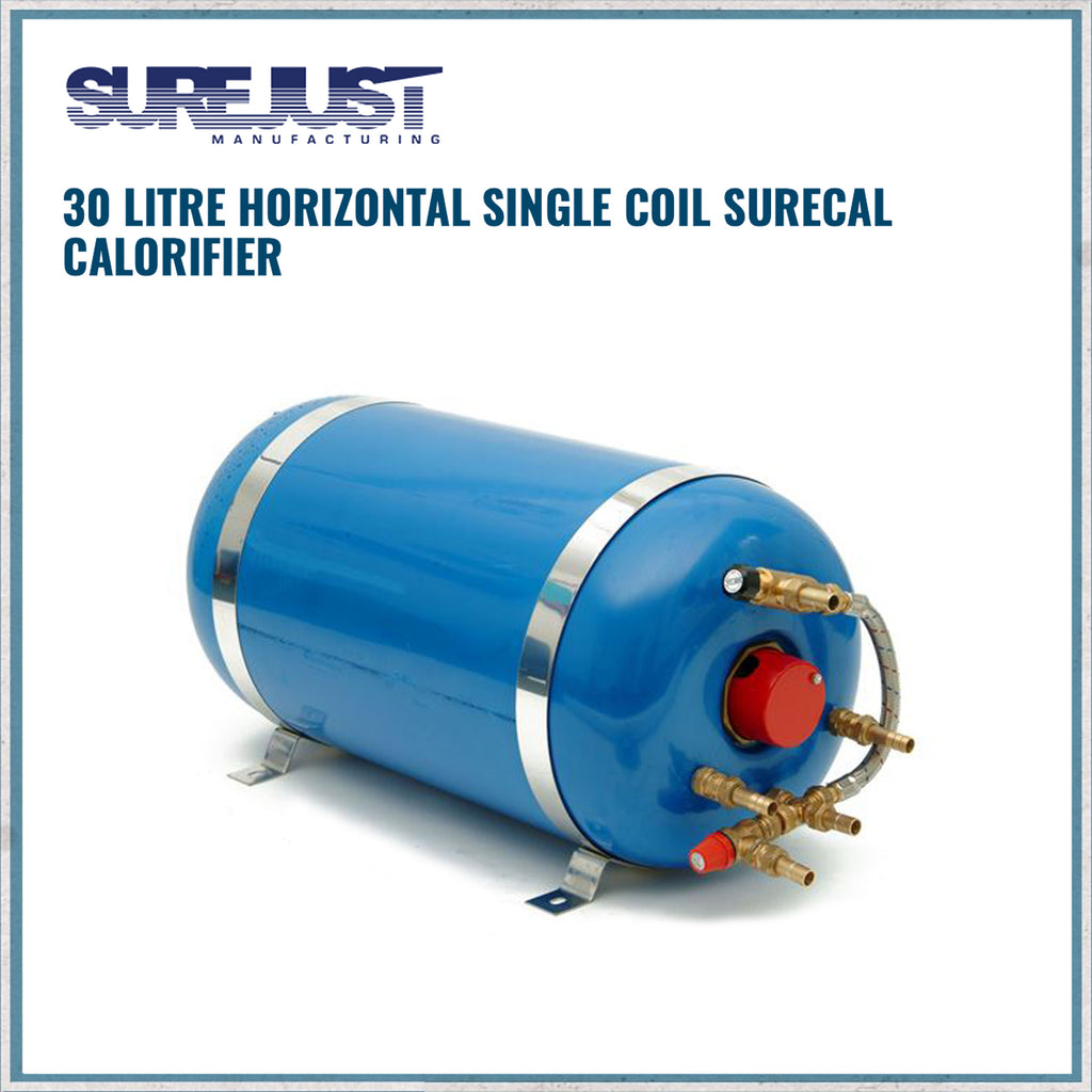 surecal 30 litre single coil calorifier