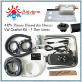 VW Crafter 4kw diesel air heater