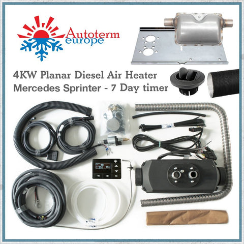 4kw Sprinter Autoterm heater kit