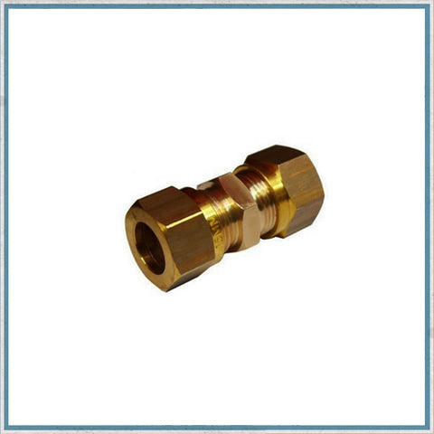 Straight Compression fitting For 8mm Copper Gas Pipe