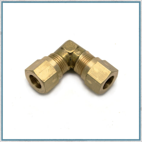 90 Degree Compression fitting For 8mm Copper Gas Pipe
