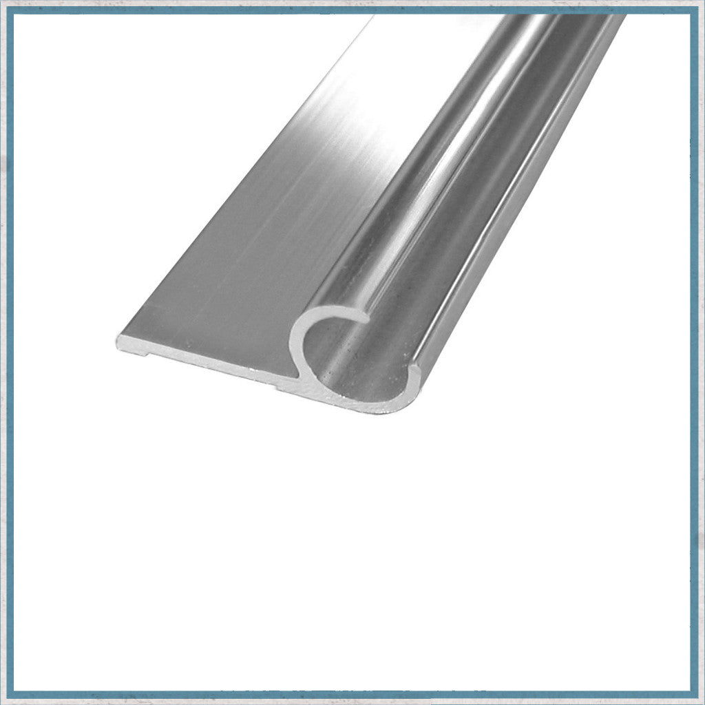 Aluminium Awning Rail With Lip Camper Interiors