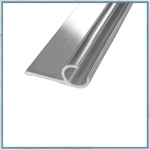 Aluminium Awning Rail with lip