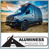 Aluminess Mercedes-Benz Sprinter, VW Crafter Roof Rack Ladder