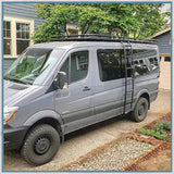 Aluminess low Roof Mercedes-Benz Sprinter, VW Crafter Roof Racks