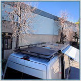 Aluminess High Roof Mercedes-Benz Sprinter, VW Crafter Roof Racks