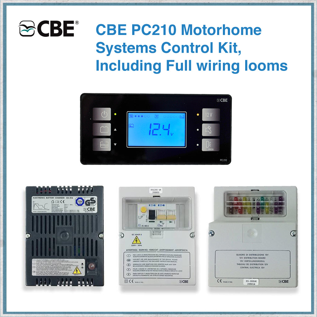 CBE PC210 Morhome Systems Control Kit