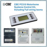 CBE PC210 Morhome Systems Control Kit - white
