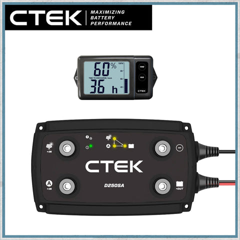 "CTEK ""OFF GRID"" Battery to Battery Charging System 20A"