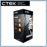 "CTEK ""OFF GRID"" Battery to Battery Charging System 20A retail packaging"