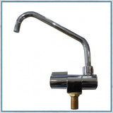 Can Chrome Plated Fold Down Tap for Camper Vans and Motorhomes