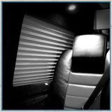 Silkweave Hills Cellular Thermal Window C - VW T5 T6 SWB/LWB - Barn Door Window Pod - Driver Side