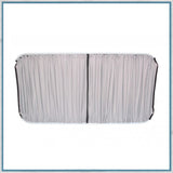 Ford Custom Curtain Kits grey black fabric