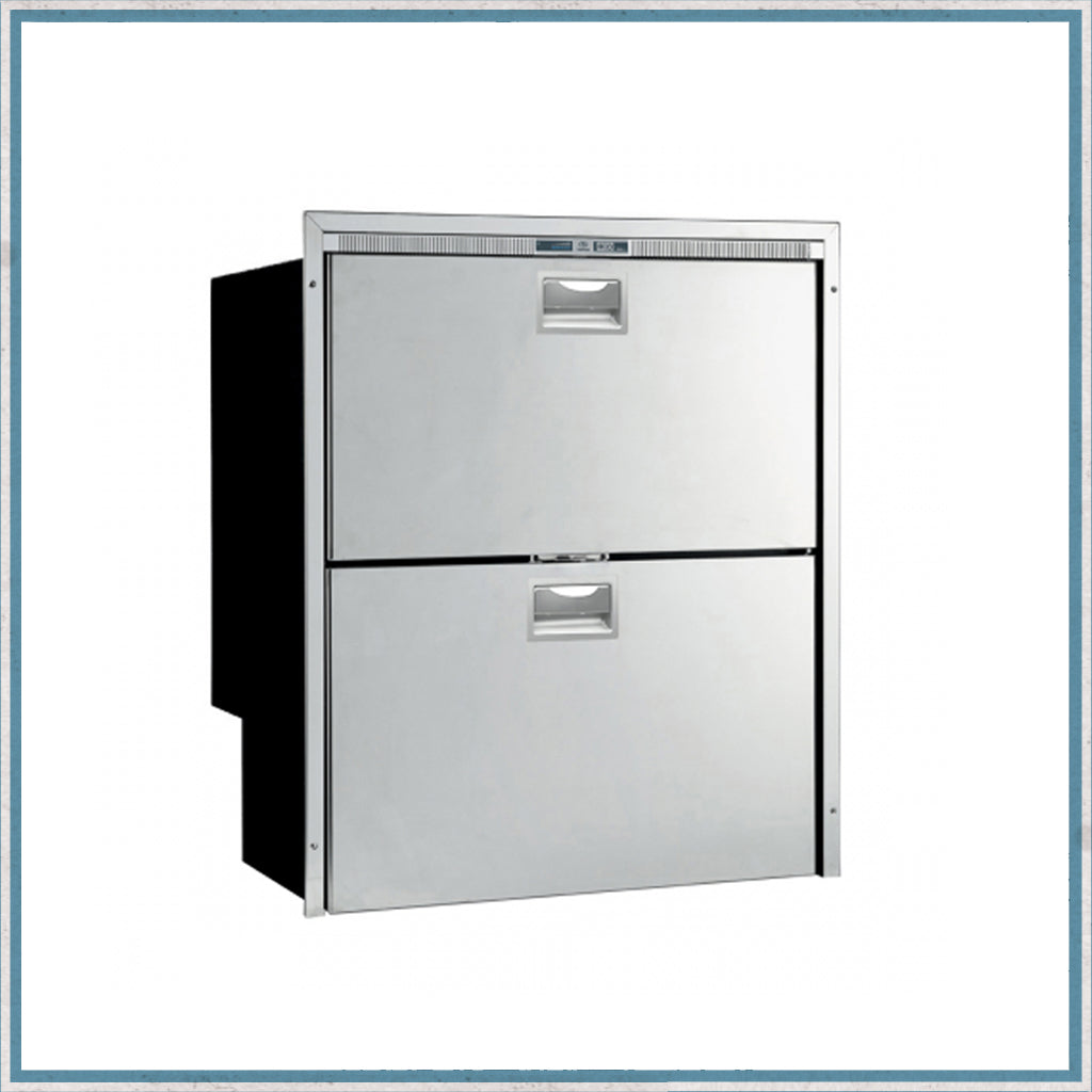 Vitrifrigo DW180.2DTXPFT Stainless Steel Drawer Fridge Freezer