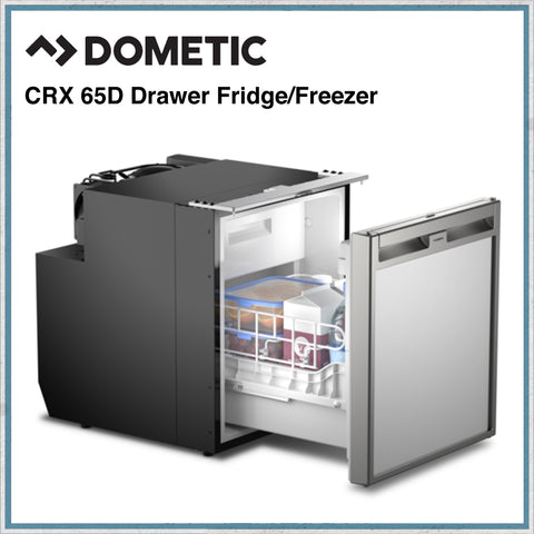 Dometic CRX65D - 58 Litre Camper Van, Motorhome Drawer Fridge/Freezer
