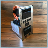 Sargent EC160 silver vertical power supply unit for campervans and self-builds