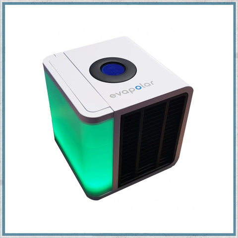 Evapolar personal air cooler - green