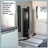 Double Seat Frame for Sprinter Crafter Ducato & Boxer