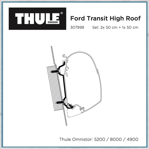 Thule Ford transit high roof awning bracket
