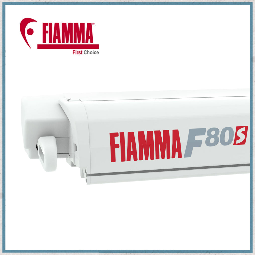 FIAMMA F80S Roof Awning - Polar White Case