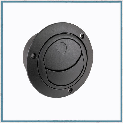 Directional Round Air Vent - Flanged, closed