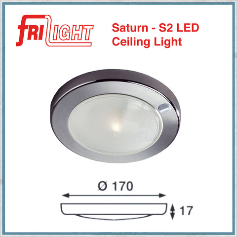 Frilight saturn led ceiling light