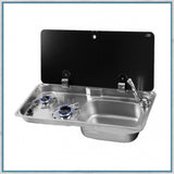 Can GR1765 two burner and sink combination unit with right hand sink