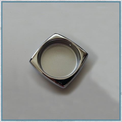 Squared Edge finger pull recessed handle