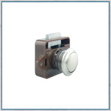 Mini Push button latch 19mm aperture