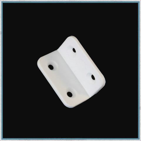 White Nylon hinge