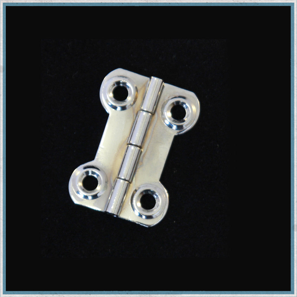 Waisted hinge (Dog Bone Hinge)