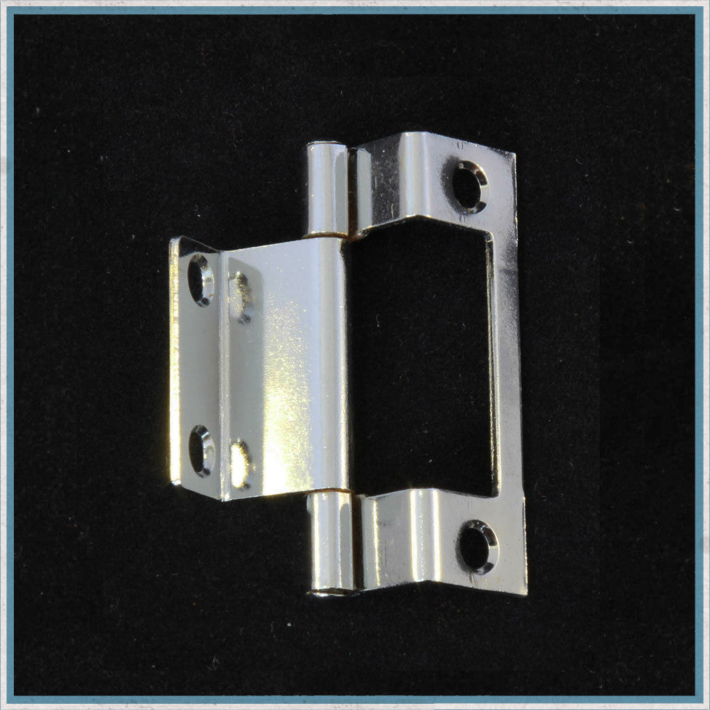 Twin cranked hinge