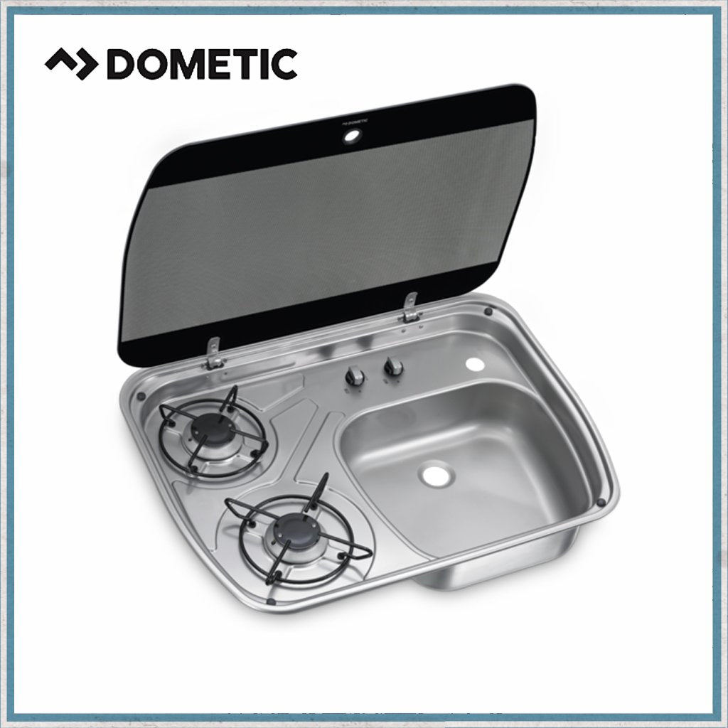 Dometic HSG 2445 two burner hob and sink unit